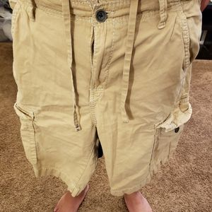 Mens true religion tan cargo pants size 42